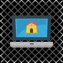 Real estate website Icon