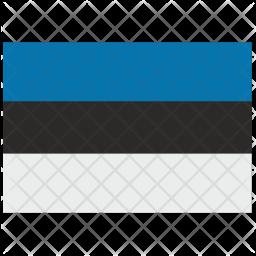Esthonia Flag Icon