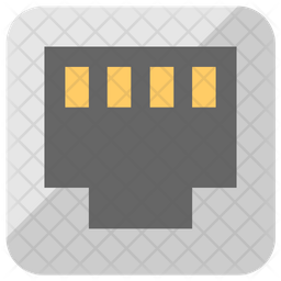 Ethernet Socket Icon