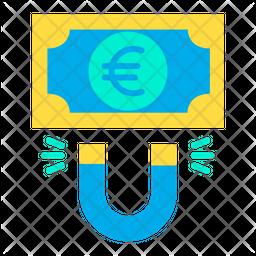 Euro attract Icon