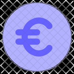 Euro-coin Flat Icon