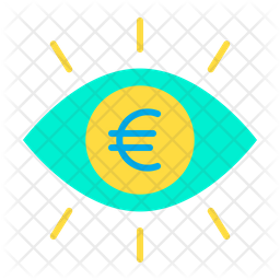 Euro eye Icon