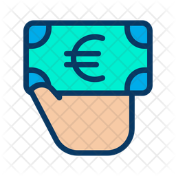 Euro Giving Icon