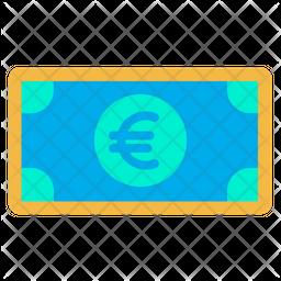 Euro Note Icon