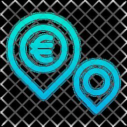 Euro Place Icon