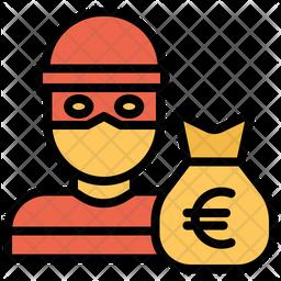 Euro Robber Icon