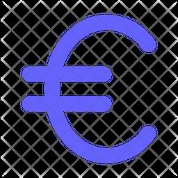 Euro-sign Flat Icon
