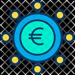 Euro spending Icon