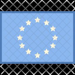Europe Flag Flag Icon