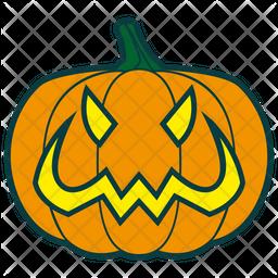 Evil Pumpkin Icon