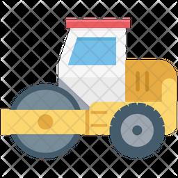 Excavator Cool Icon