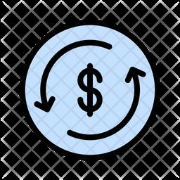 Exchange Dollor Icon