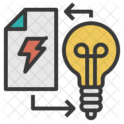 Execute Plan Colored Outline Icon