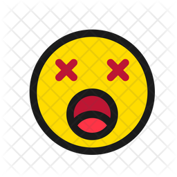Exhausted Emoji Icon