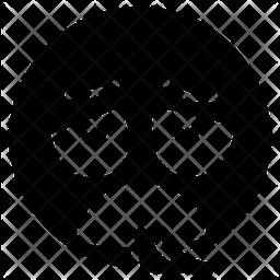 Exhausted Emoticon Emoji Icon