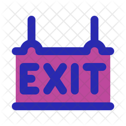 Exit Board Icon