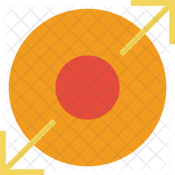 Expand, Nucleum, Expan, Big, Maximize, Arrow Icon of Flat style - Available  in SVG, PNG, EPS, AI & Icon fonts