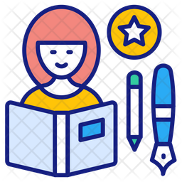 Expert Colored Outline Icon