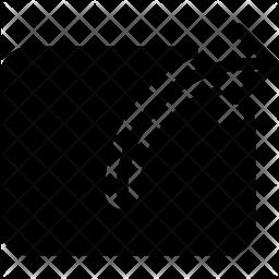 Export Glyph Icon