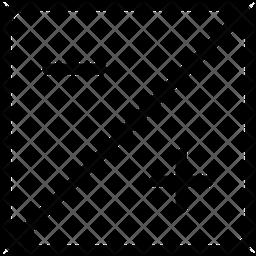 Exposure Line Icon