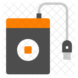 External Harddisk Icon Of Flat Style Available In Svg Png Eps Ai Icon Fonts
