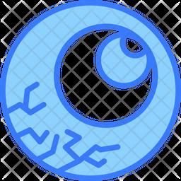 Eye Dualtone Icon