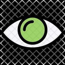 Eye, Clinic, Medicine, Doctor, Treatment Icon