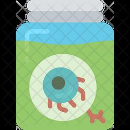 Eye In A Jar Icon