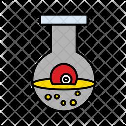 Eye In Bottle Icon
