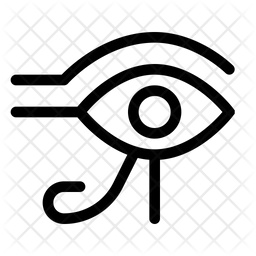 Eye-of-horus Line Icon