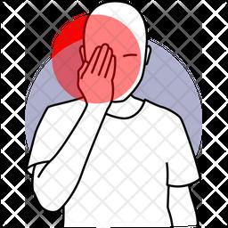 Eye Pain Icon