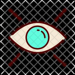 Eye scanner Icon