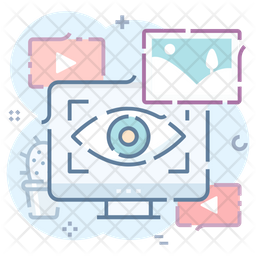 Eye Scanning Icon