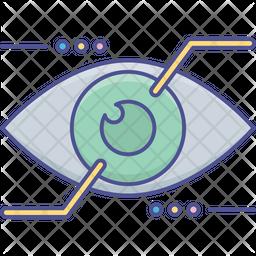 Eye Tap Augmentation Icon