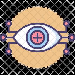 Eye Technology Icon