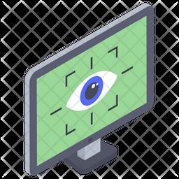 Eye tracking Icon