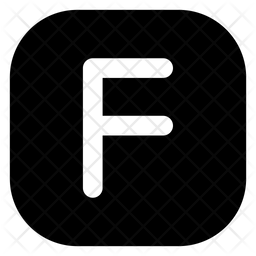 F Letter Icon