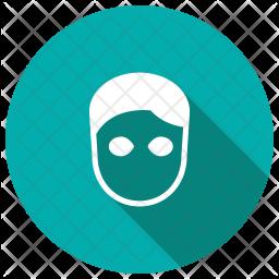 Face Glyph Icon