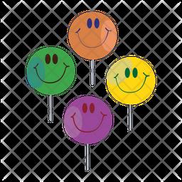 Face Lollipop Icon