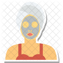 Face Mask Colored Outline Icon