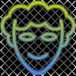 Face Masks Gradient Icon