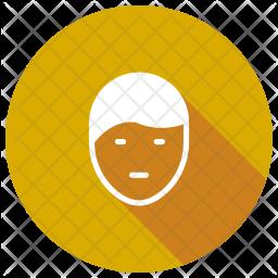 Facial Glyph Icon