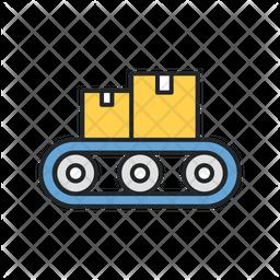 Factory Distribution Icon
