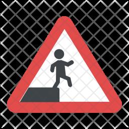 Fall Hazard Icon