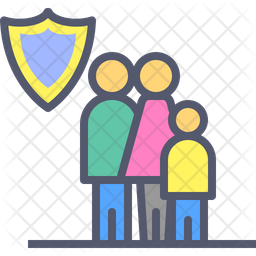 Family assurance Icon