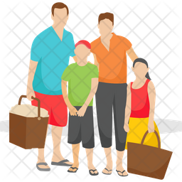 Family Picnic Icon
