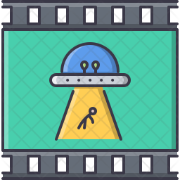 Fantastic ufo Icon