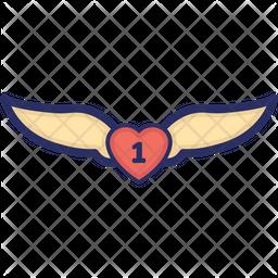 Faravahar Colored Outline Icon
