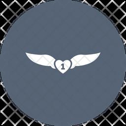 Faravahar Flat Icon