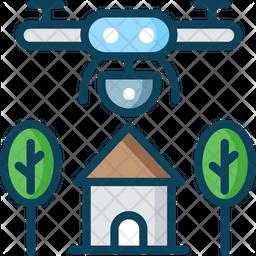 Farm Robot Icon